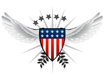 American shield Royalty Free Stock Image
