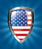 American shield Stock Images