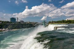 American side of Niagara Falls Royalty Free Stock Photography