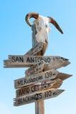 American signpost Royalty Free Stock Photo