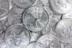 American silver eagle Royalty Free Stock Photos