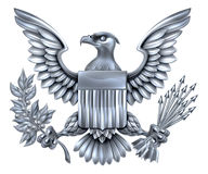 American Silver Eagle Royalty Free Stock Photography