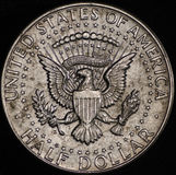 American Silver Half Dollar Coin Royalty Free Stock Image