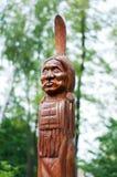 American single totem Stock Image