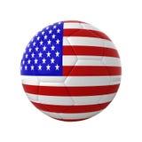 American soccer. Stock Photos