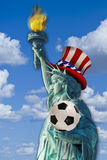 American Soccer. Stock Photography