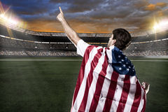 American soccer player Stock Image