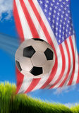 American Soccer. Stock Photo