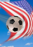American Soccer. Royalty Free Stock Photos