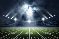 American Soccer Stadium, 3d rendering royalty free stock image