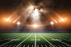 American Soccer Stadium, 3d rendering Stock Image