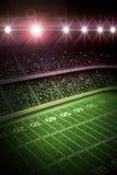 American soccer stadium stock illustration
