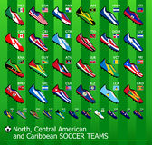 American soccer teams Stock Photo