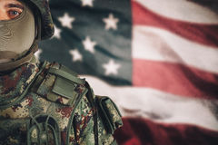 American soldier Stock Photos