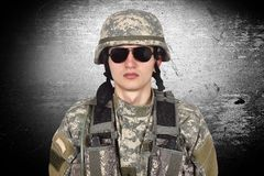 American soldier Royalty Free Stock Photos