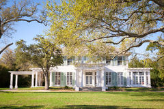 American Southern-Style Mansion Royalty Free Stock Photo