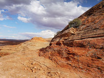 American Southwest, Colorful Desert Landscape Royalty Free Stock Images