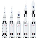American spaceships Stock Photo