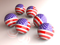 American Spheres Stock Photography