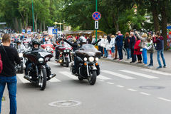 American spirit pearl rally 2015 in Palanga Stock Photo