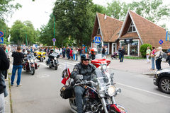 American spirit pearl rally 2015 in Palanga Royalty Free Stock Photography