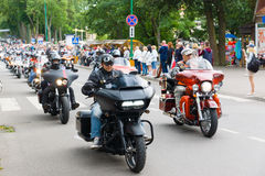 American spirit pearl rally 2015 in Palanga Royalty Free Stock Images