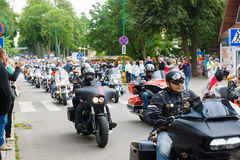 American spirit pearl rally 2015 in Palanga Stock Image
