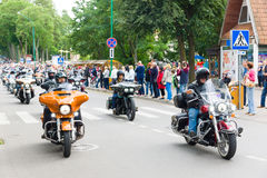 American spirit pearl rally 2015 in Palanga Stock Images