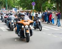 American spirit pearl rally 2015 in Palanga Royalty Free Stock Image