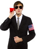 American Spy Royalty Free Stock Image