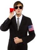 American Spy Royalty Free Stock Image
