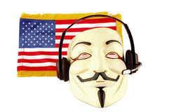 American spying Stock Photography