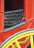 American stagecoach. Closeup of traditional style american western stagecoach Royalty Free Stock Photos