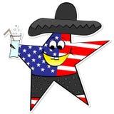 American star Stock Photography