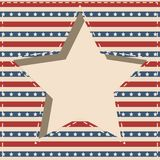 American star frame. Stock Photography