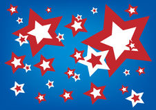 American Stars Royalty Free Stock Photos