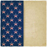 American stars old background Royalty Free Stock Photos