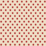 American stars seamless pattern. American patriotic stars seamless pattern in vintage colors Stock Photos