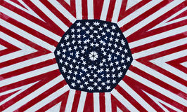 American stars and stripes background Royalty Free Stock Image