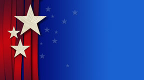 American Stars and Stripes Background Royalty Free Stock Images