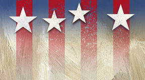 American Stars and Stripes Background Grunge Royalty Free Stock Images