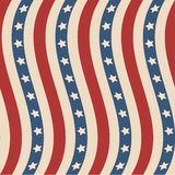 American stars and stripes pattern Royalty Free Stock Image