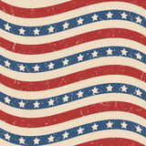 American stars and stripes pattern Stock Image