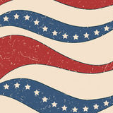 American stars and stripes pattern Royalty Free Stock Photos