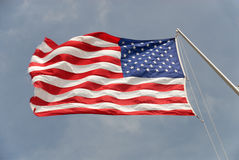 American state flag Stock Photo