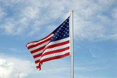 American state flag Royalty Free Stock Photography