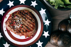 American steak Stock Image