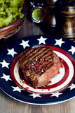 American steak Royalty Free Stock Photography