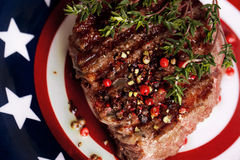American steak Royalty Free Stock Images