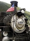 American Steam Train Engine 481 stock photography